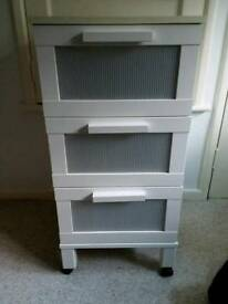 Ikea set of drawers on wheels