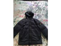 Men's large navy stone island coat