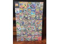 Marvel canvas print