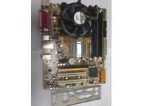 bundle -Motherboard, CPU and memory. pentium DC 3.06ghz, 4gb memory