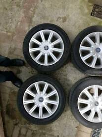 X4 ford alloy wheels