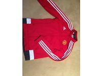 Adidas Manchester United tracksuit jacket