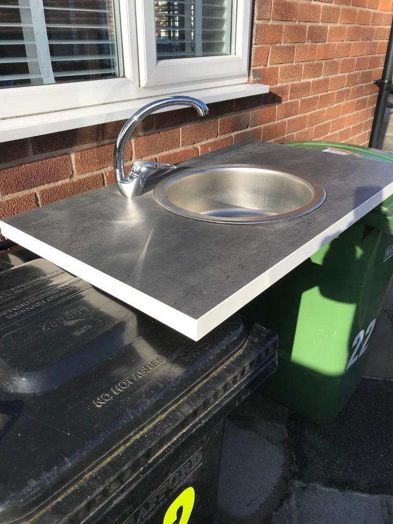 Temporary Kitchen Sink Unit In