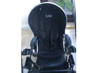 Babystyle Oyster Max 2 Double Tandem Pram Stroller