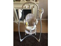 Graco swing and bouncing chair (combined)