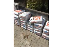 FREE FREE 32 Bags Thistle Multifinish Plaster with use-by date 13.07.18
