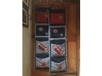 2 x Hanging Storage Pockets for Over Door Kids Bedroom Storage