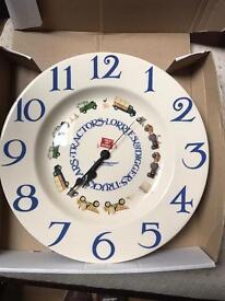 Emma Bridgewater Clock