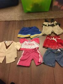 Sets of build a bear genuine clothes