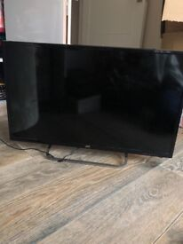 """JVC 32"""" LED HD TV with broken screen. For parts. 1 year old"""