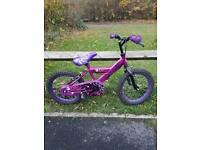 16 inch Zinc purple bike