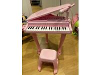 Little Princess Piano and Microphone