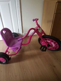 Girls new tricycle