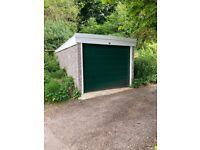 Centrally located garage / lock up / storage