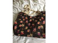 Ladies bag, zip closing, inside pocket