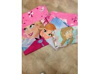 Frozen bedding with Disney curtains