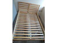 Double Bed Frame & Mattress Beckenham