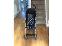 Mothercare Black Stroller Pushchair