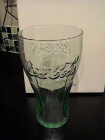Coca Cola 16oz Genuine Georgia Green Glasses x 21