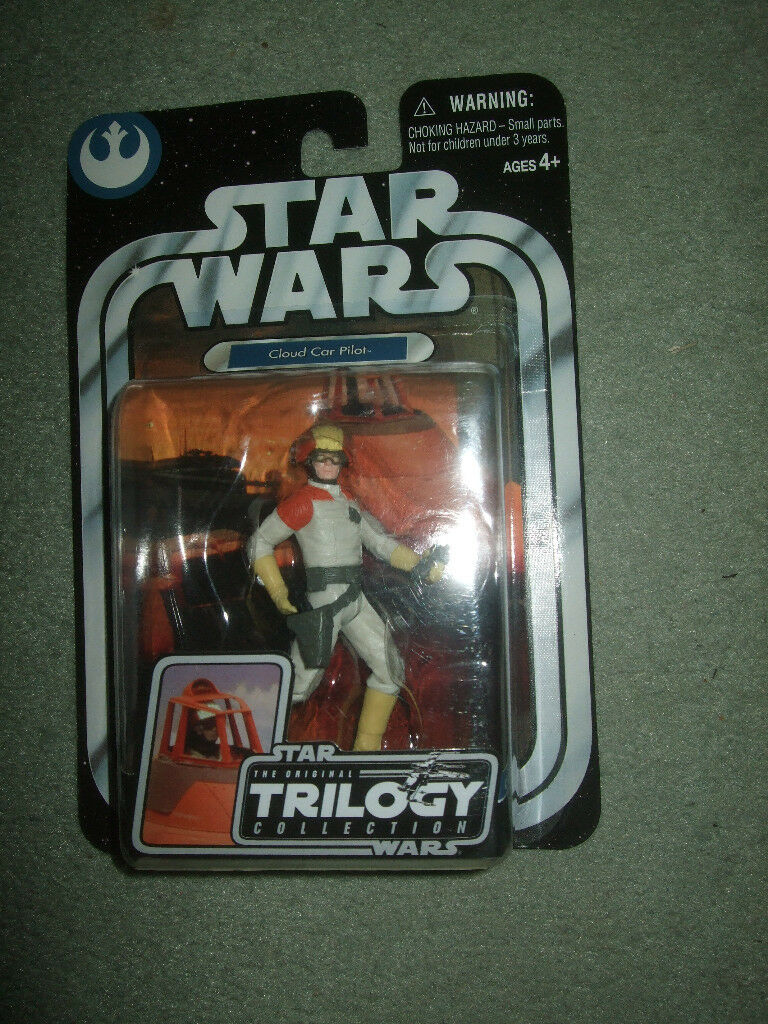 Star Wars The Original Trilogy Collection Cloud Car Pilot figure