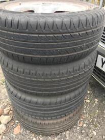 4 x 205/55 R16 205 55 R16 Tyres excellent condition