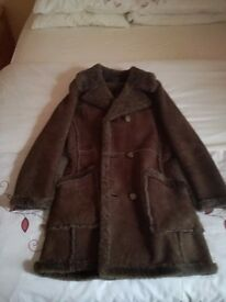 1960S 3/4 SHEEPSKIN COAT, AS NEW