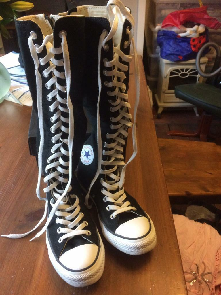converse long boots