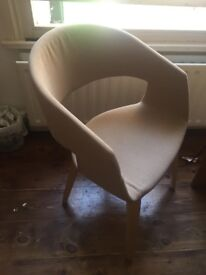 minimalist and cozy chair