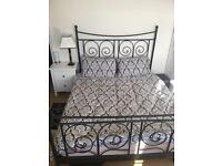 Lovely KING SIZE bed with memory foam mattress - BARGAIN!!