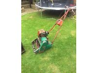 Old Suffolk petrol lawnmower