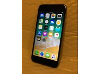 iPhone 6 128gb. Excellent Condition. Space Grey Body. Black Screen.