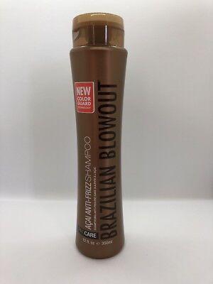 Brazilian Blowout Acai Anti Frizz Shampoo, 12 Ounce - FREE SHIPPING