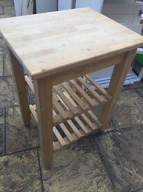 Wooden kitchen butchers block / island