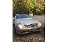 Mercedes c200 kompressor 2003