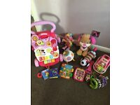 Vtech baby walker & baby toys