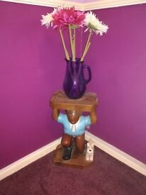 Tintin collectable plant/lamp stand