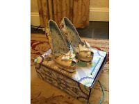 Irregular Choice Kim Oh No floral heels size 38