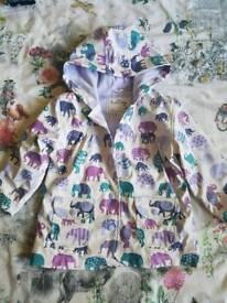 Girls and boys hatley raincoats - age 3