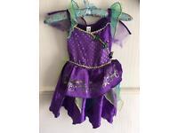 3-4 Years girls bat girl fancy dress Halloween outfit