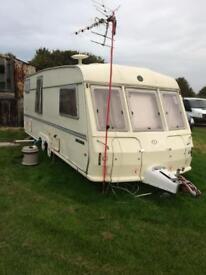 Buceneer twin axle touring caravan..
