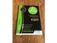 SQA National 5 English Past Papers with Answers 2015-2016 By Hodder Gibson