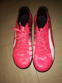 Pink Puma Trainers Size 8 unisex