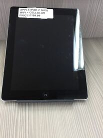!!!!!SUPER CHEAP DEAL APPLE IPAD 2 16GB WIFI + CELLULAR WITH WARRANTY !!!!!!