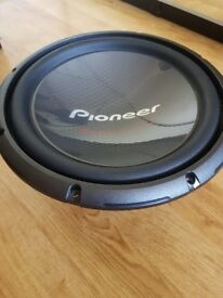 Pioneer 12inch subwoofer champion series