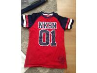 Boys nickelson 2 t shirts plus 1 joggers age 10-12 good condition £10.00