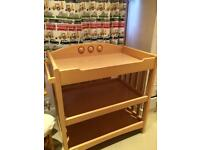 Mamas and Papas nappy changer table