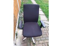 Office Chair with Arm Rests (Great condition)