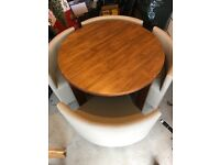 Dwell Walnut Dining Table & 4 Chairs