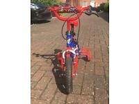 "Avigo ignition Boys Bike 12"" with stabilisers"