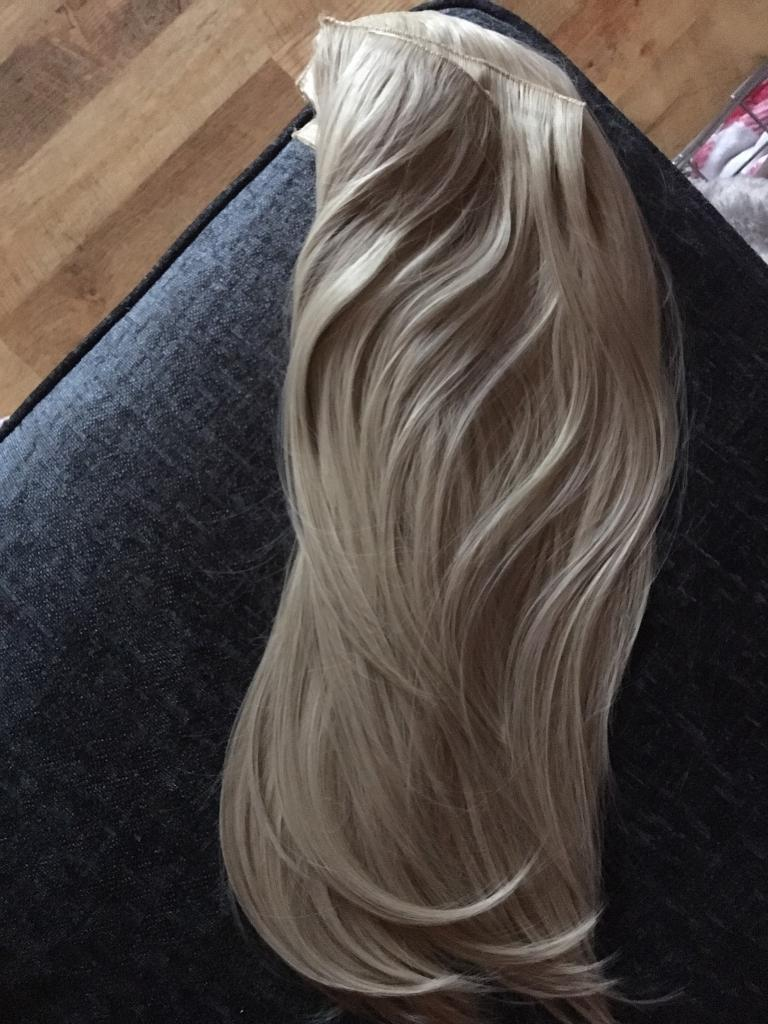 21 inches long synthetic light blonde hair extensions in blyth 21 inches long synthetic light blonde hair extensions pmusecretfo Images